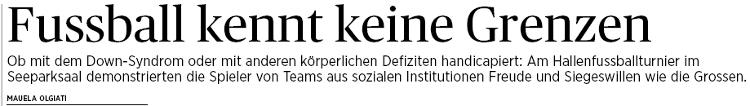 TG Zeitung STUTZ-Cup 2014